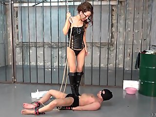 Japanese Femdom Trampling and Horse Riding
