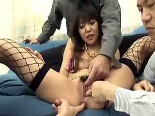 Minami Mizuhara gets dicks