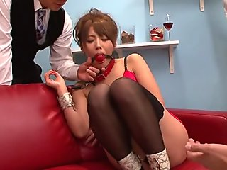Raw and wicked Asian blowjob